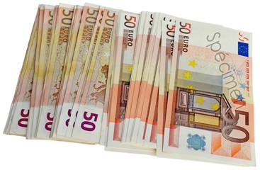 """billets """"spécimen"""" de 50 euros"""