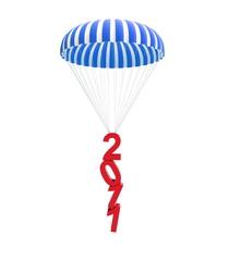 parachute new year's 2011