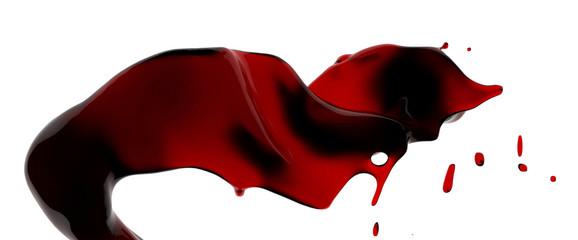Éclaboussure de vin rouge 3