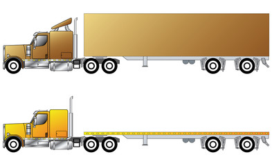 American conventional truck