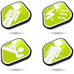 wellness massage symbol zeichen icon