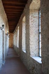 Camminamento di ronda nord - castello di Zavattarello