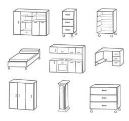 furniture icon - vector illustration