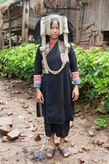 Portrait Hill tribe Laos