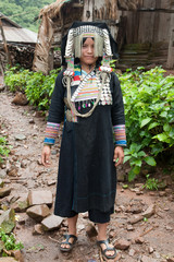 Akha Pixo Group Phongsali in Laos