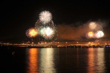 Fuegos Artificiales Feria de Málaga