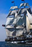 Sailing ship at Sea - 25866910
