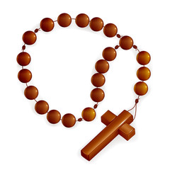 Rosary and Cross