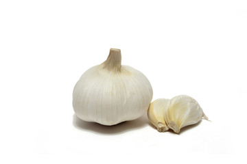Garlic and two pods