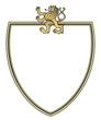 Wappen mit Löwen