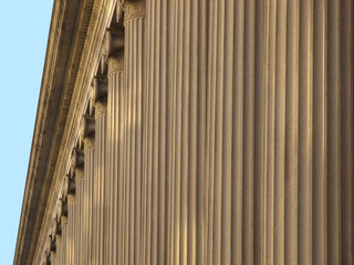 Greek Columns Background