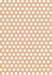 細かい花パターン