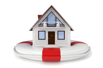 House insurance - Lifebuoy - Icon
