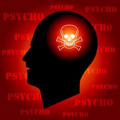 Skull Sign in Human Head