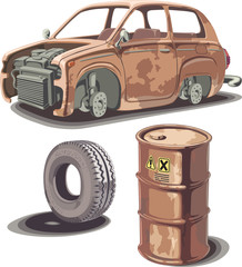 Old and rusty stuff