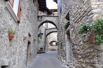 Via del borgo di Canale di Tenno
