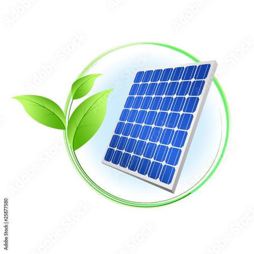 Solar Panel Logo Solar panel logo