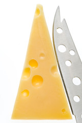 porcion de queso emmental