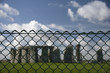 Stonehange behind fence