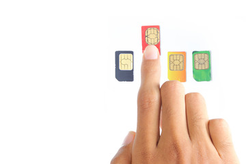 hand was choosing the best sim card or celular provider