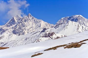 The Swiss Alps located in Gornergrat, Switzerland