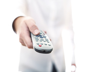 remote control tv background
