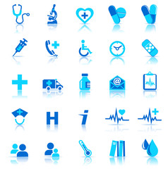 25 Health care Icons covering General Practice