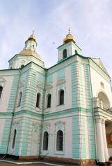 Orthodox church. East Ukraine
