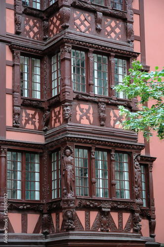 France, maison ancienne à Strasbourg
