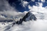 Fototapete Fels - Alps - Hochgebirge