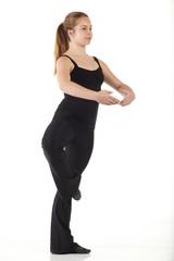 Modern Jazz dancer