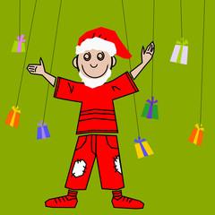bambino natalizio