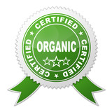 Sello ORGANIC CERTIFIED poster