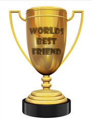 best friend trophy