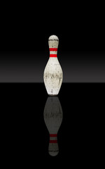 Bowling pin reflection
