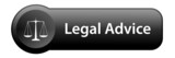 LEGAL ADVICE Button (law scales of justice lawyer disclaimers) poster