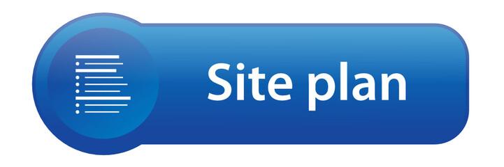 SITE PLAN Web Button (website sitemap internet links info icon)