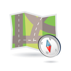 map icon gps system