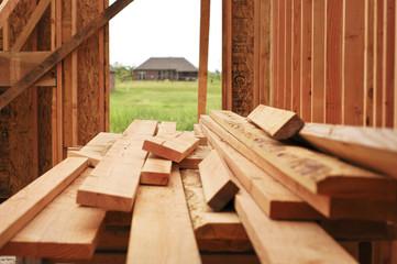 Lumber for house