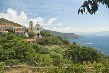Corsica Occidentale, panorama di Cargese