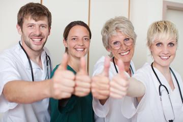 teamwork im krankenhaus