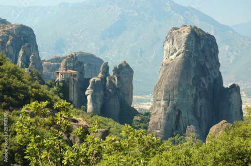 Rousanou rock monastery at Meteora,Greece