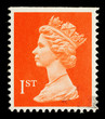 English Used First Class Postage Stamp, circa 1998