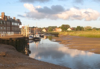 Blakeney at sunrise