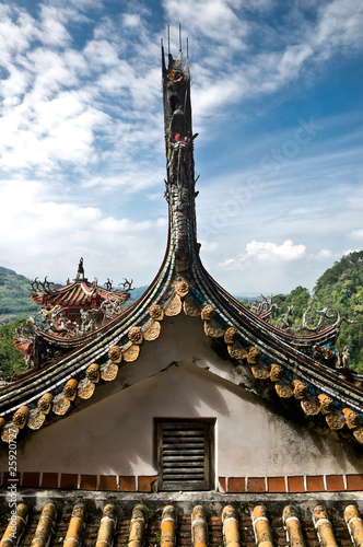 Traditional roof, Taiwan