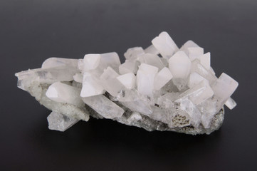 Druze quartz crystals