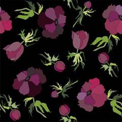 Background. Anemones.