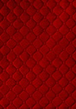 red  picture of genuine leather upholstery poster