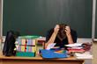 Lehrer verzweifelt
