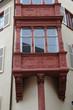 oriel sur une maison à Colmar en Alsace